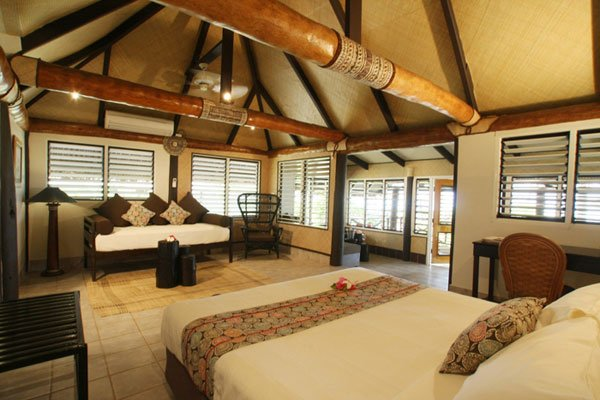 Fiji island resort custom soft furnishing & furniture
