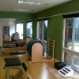 Pilates workout area