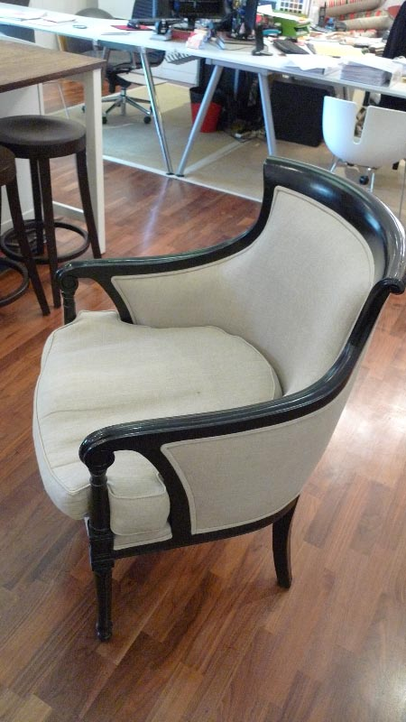 Upholstered armchair - $850