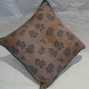 Blue floral cushion - $40 (2 available)