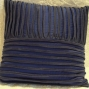 Dark blue cushion - $40 (2 available)