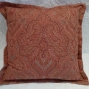 Red paisley cushion - $70 (2 available)