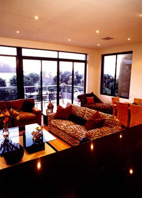 Custom made lounge and furnishings